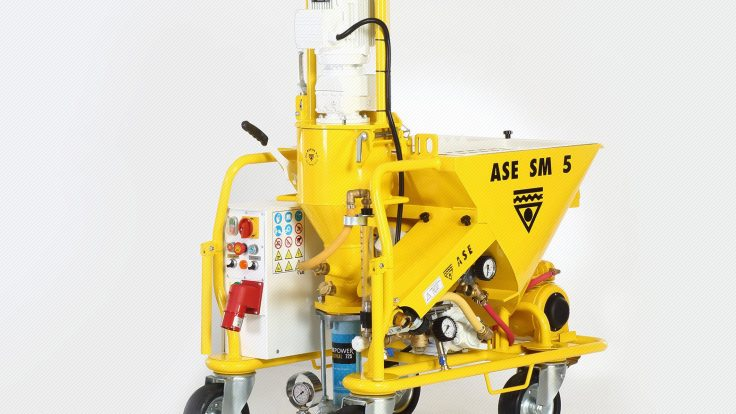 ASE Sm 5 Alçı Sıva Makinesi