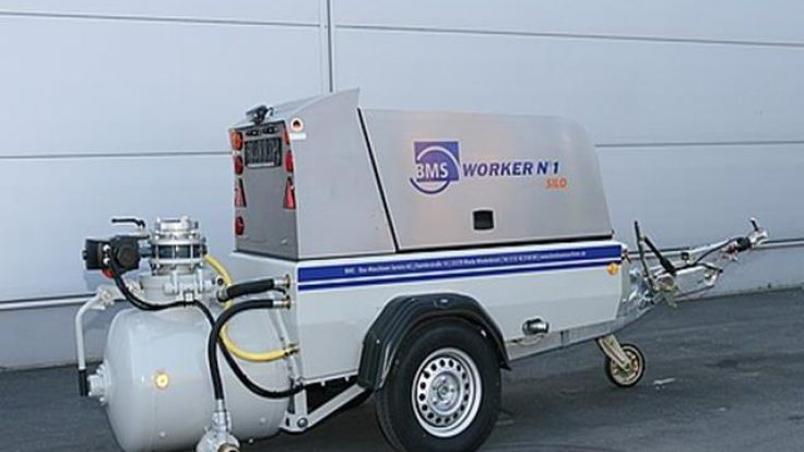 Sulu şap makinası BMS WORKER N°1 FLUID PUMP