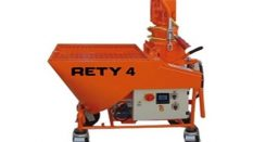 Hazır Sıva Makinesi/Rety 4 sıva Mix